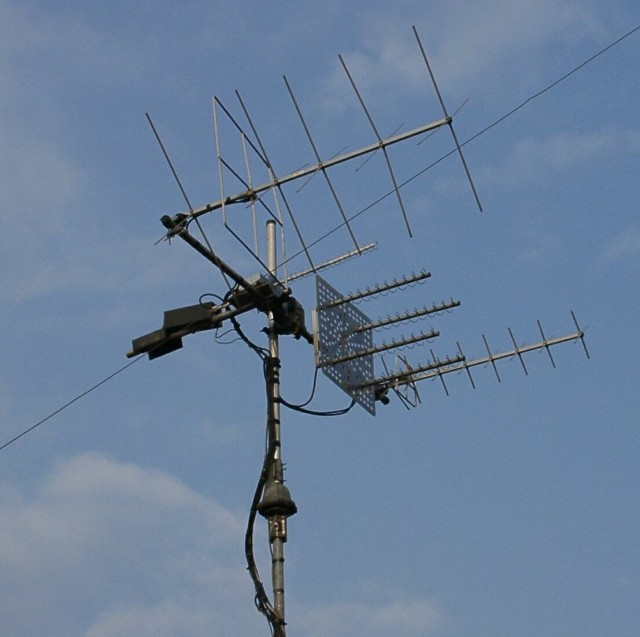 radio antenna tracking Ham satellite