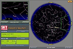 S&T's Interactive Sky Chart